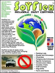 SoyFlex dust suppressant