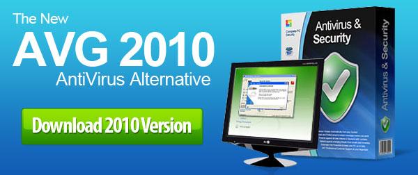 The New AVG 2010 AntiVirus Alternative