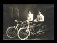 the very 1st HD motorcycle