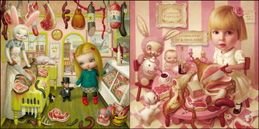 featuring the paintings of Mark Ryden